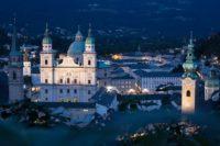 Mozart Stadt Salzburg. Tagesausflug.